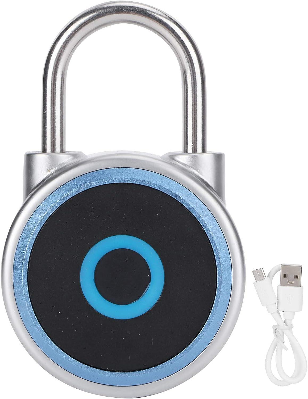 Attention brand Fingerprint 100% quality warranty Padlock Bluetooth Locker Lock f Smart Digital