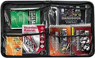 CMV/Hazmat Handbook Kit & Portfolio - Truck Driver Essential Reference Pack Includes CSA, ERG, FMCSR, Hazardous Materials, Hazmat for CMV Drivers, and Hours of Service Handbooks - J. J. Keller