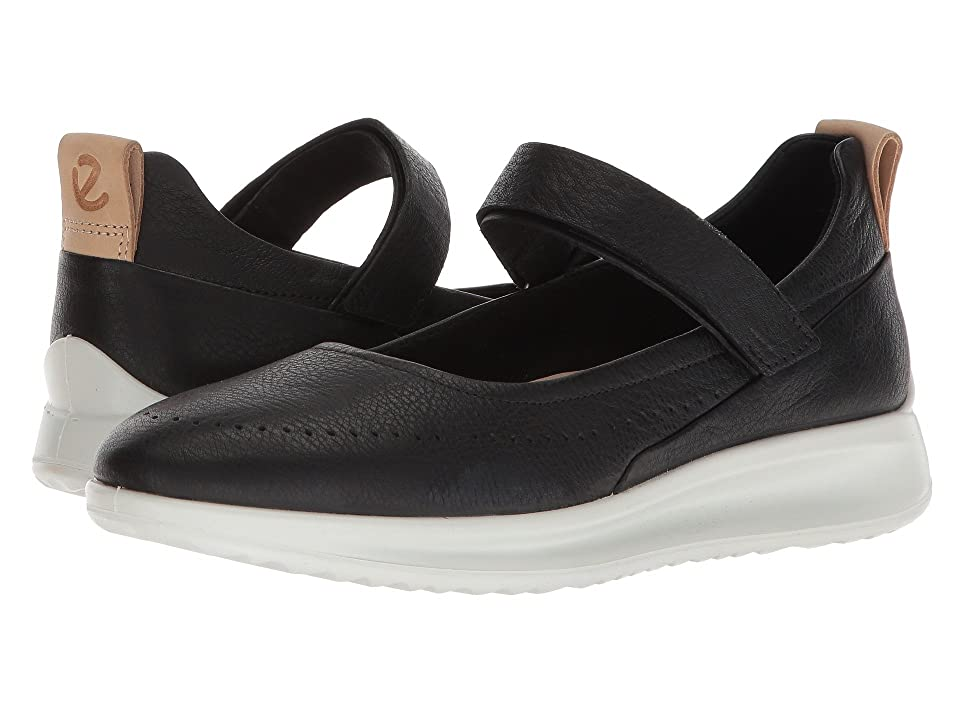 ECCO Aquet Perf Mary Jane (Black Cow Leather) Women