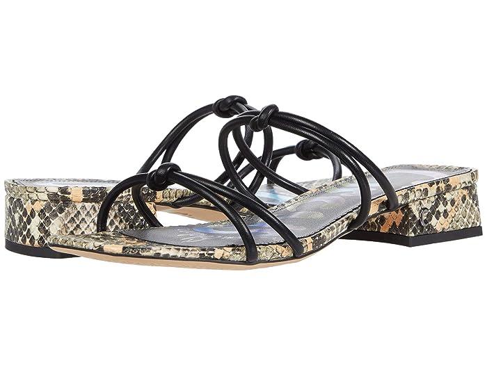 Circus by Sam Edelman  Jay (Black Fine Nappa/Pop Python) Womens Shoes