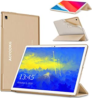 Tablet 10.1 Pulgadas 4G LTE Call,Android 9.0 pie Google Certificación GMS Tablets,4Go RAM + 64/128Go ROM,8MP 8 Cores CPU T...