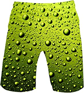 Ackful Fashion Men's Strapped Hawaiian Beach Fit Sport Casual Workout Breathable Shorts Pants