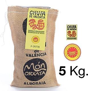 5 KG. CHUFA TRADICIONAL MÓN ORXATA. Saco yute. A granel Denominación de Origen