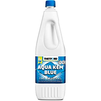 Performance Health Thetford Aqua-Kem Odour Control for Portable Toilets, 2 Litre, Toilet Fluid for Waste Holding Tanks, Cleaning Supplies for Hygiene and Odour Prevention, Toilet Cleaner