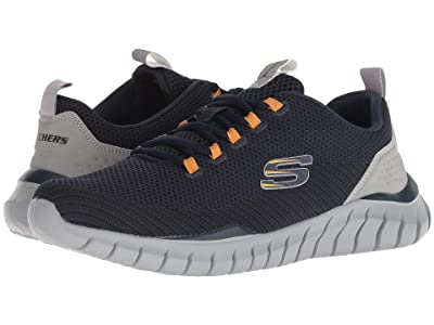 SKECHERS Overhaul Landhedge (Navy/Gray) Men