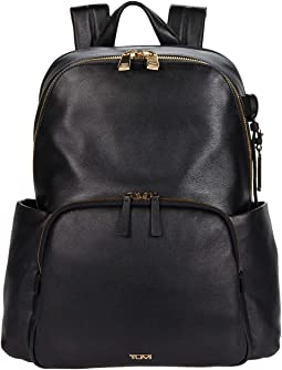 Voyageur Ruby Leather Backpack