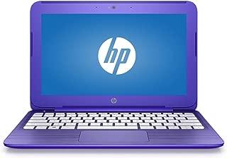 HP Stream 11 11.6 inch Flagship Laptop Computer, Intel Celeron N3060 1.6GHz, 4GB RAM, 32GB eMMC drive, 802.11ac WiFi, USB 3.1 port, Windows 10 Home, Purple (Renewed)