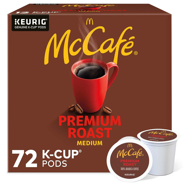 McCafé Premium In a popularity Roast Keurig Single Medium K-Cup OFFicial shop Pods Serve Roa