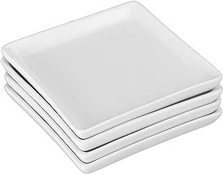BIA Cordon Bleu 901049GS1SIOC Porcelain Square Crudité Plates, One Size, White