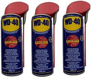 WD-40 Spray multifunción 3 x 180 ml Aceite Multiusos