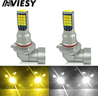 Viesy Led 9005 HB3 9006 HB4 LED Fog Lights Bulbs 3030SMD 1800 Lumen 6000K DRL Daytime Running Light Bulb Replacement Super...