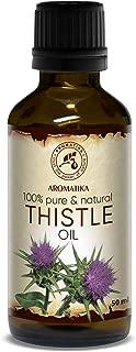 Aceite de Cardo 50ml - 100% Pure & Natural - Aceite de Semilla de Silybum Marianum - Grandes Beneficios para la Piel - Cabello - Rostro - Cuidado del Cuerpo