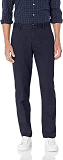Men's Straight-fit Wrinkle-Resistant Flat-Front Chino Pant