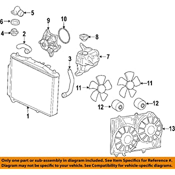 Amazon.com: General Motors 12583033, Engine Water Pump: AutomotiveAmazon.com