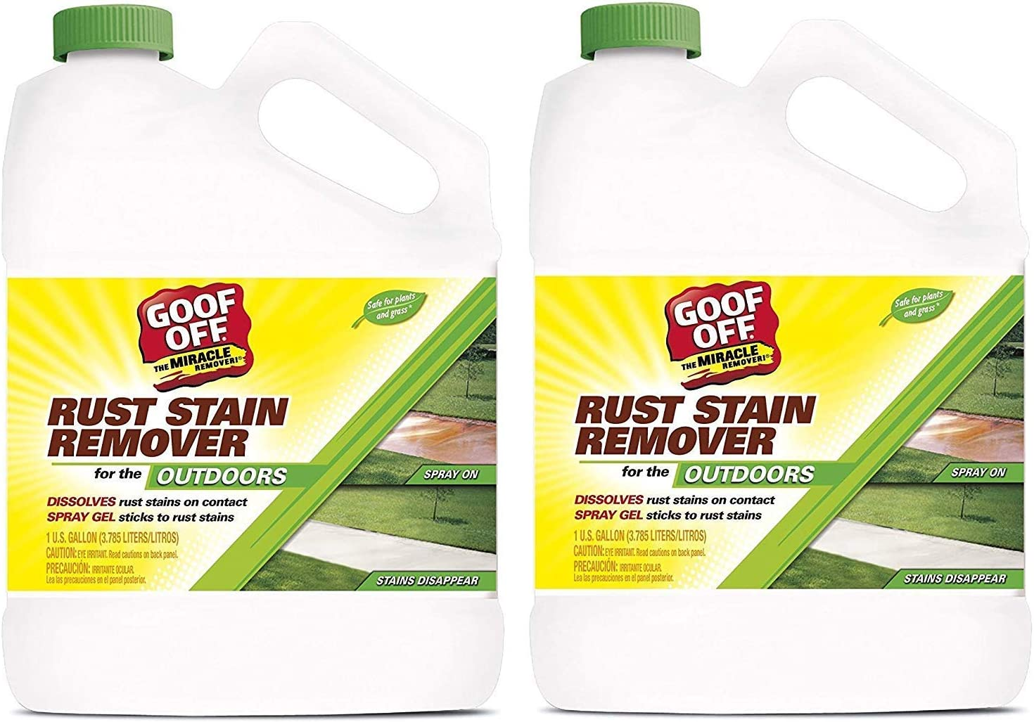 RustAid GSX00101 Goof Free shipping / New Direct stock discount 1 Gallon Stain Remover Rust 2-Pack GAL