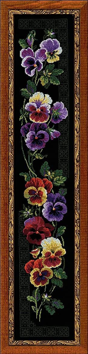 RIOLIS PREMIUM 100/011 Pansy - Counted Cross Stitch Kit - 7?