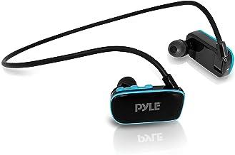 Waterproof MP3 Player Swim Headphone Submersible IPX8 Flexible WrapAround Style Headphones Builtin Rechargeable Battery US...