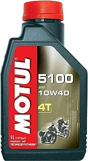 Motul 4T 5100 10W40 Ester Synthetic Blend - Quart (Pack of 6)