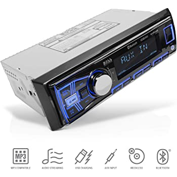 [SCHEMATICS_4FD]  Amazon.com: BOSS Audio Systems 611UAB Multimedia Car Stereo - Single Din,  Bluetooth Audio and Hands-Free Calling, Built-in Microphone, MP3 Player, No  CD/DVD Player, USB Port, AUX Input, AM/FM Radio Receiver: Car Electronics | Boss Audio 612ua Wiring |  | Amazon.com
