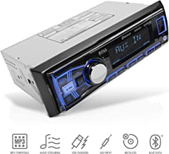 BOSS Audio Systems 611UAB Multimedia Car Stereo – Single Din, Bluetooth Audio and..
