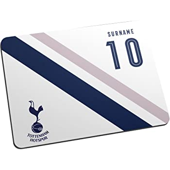 Tottenham Hotspur Official Personalised Fc Stripe Mouse Mat Amazon Co Uk Sports Outdoors