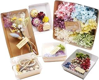 ハーバリウム花材 贅沢お花たっぷり福袋 材料 プリザーブドフラワー ドライフラワー アジサイ