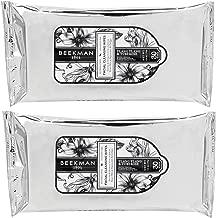 Beekman 1802 Facial Cleansing Wipes Pure Goat Milk - Ylang Ylang Tuberose, 2 Pack