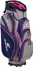 Tour Edge Male Exotics Xtreme4 Cart Bag (Men's, Exotics Ladies Extreme 4 Cart Bag Navy Scratch Plaid/Pink