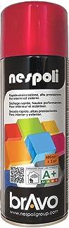 Nespoli Peinture Rouge Feu - Peinture Pro Brillant - 400ml