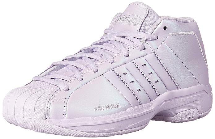 purple adidas pro model