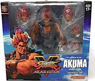 Storm Collectibles Street Fighter V Akuma Nostalgic Costume Arcade Edition Figura De Acción