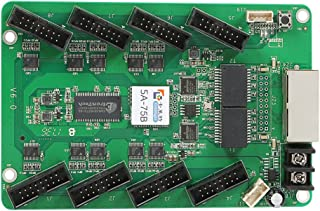 Colorlight 5A-75B Receiving Card Led Display Synchronous Control Card(Update Version) with Software Configuration Instruction