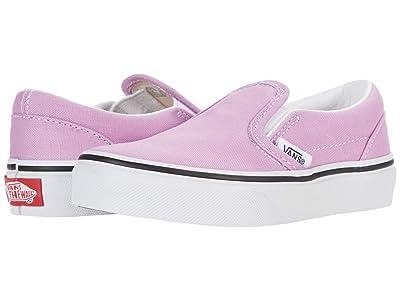 Vans Kids Classic Slip-On (Little Kid) Girls Shoes