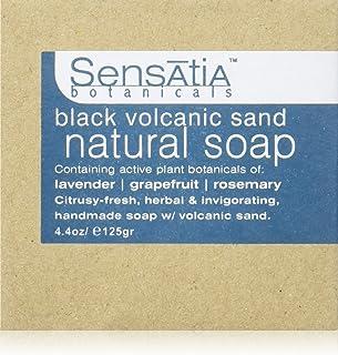 Sensatia(センセイシャ) フレーバーソープ ブラックボルカニックサンド 125g