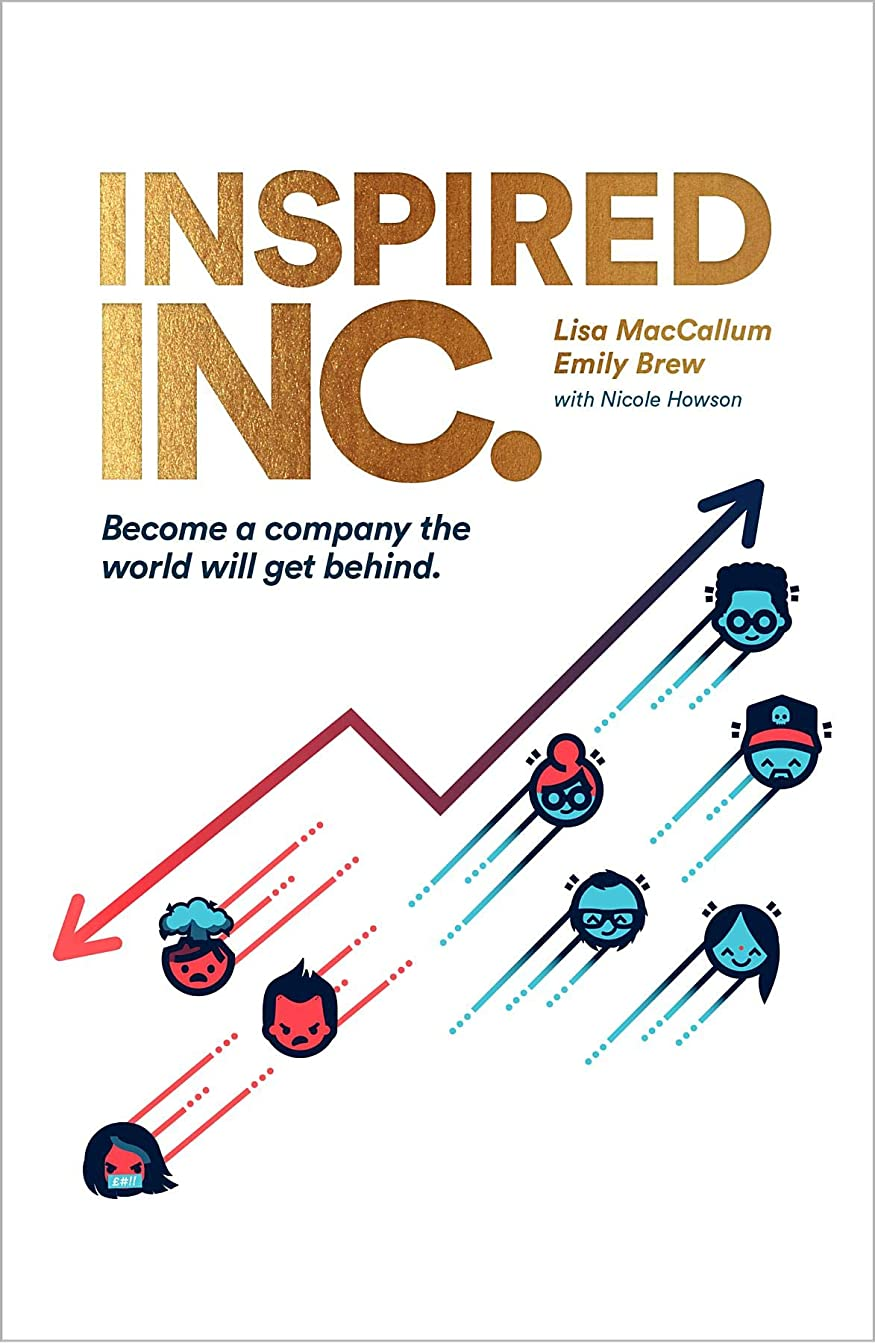 ピン示すノイズInspired INC.: Become a Company the World Will Get Behind (English Edition)
