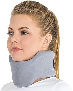 یقه گردن REMEDICA Semirigid / پایه نگهدارنده گردن / 100٪ - آستر پنبه ای خاکستری بزرگ