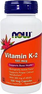 Now Foods, Vitamina K2, x100Vcaps
