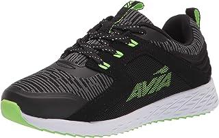 Avia Boys' Avi-Ryder Sneaker, Black/Green Gecko/Castle Rock,1 Little Kid