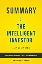 The Intelligent Investor: by Benjamin Graham | Summary & Analysis