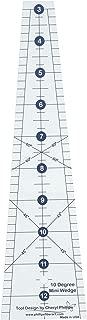 Phillips Fiber Art 10 Degree Mini Wedge Ruler