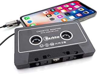 Reshow Car Audio Aux Cassette Adapter