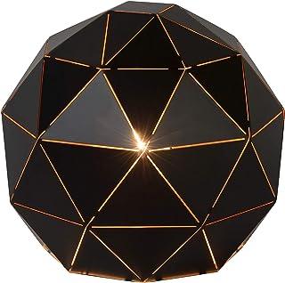 Lucide OTONA - Lampe De Table - Ø 25 cm - Noir