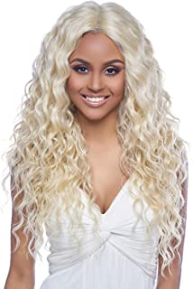 SWISS LACE FRONT DEEP PART WIG, 6