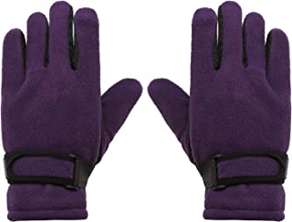 WDSKY Kids Magic Gloves Winter Wool Knit Touchscreen Snowflake 2 Pairs