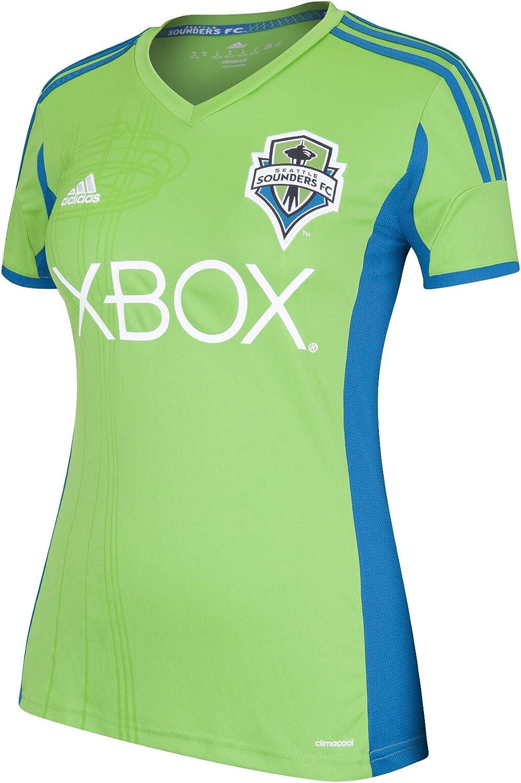MLS Seattle Dealing 100% quality warranty! full price reduction Sounders FC Women's Short Sleeve Jersey Replica