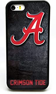 University of Alabama Dark Grunge A Logo Background College Football Phone Case Cover - Select Model (iPhone Xs MAX)