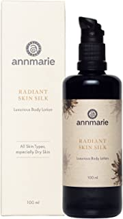 Annmarie Skin Care Radiant Skin Silk - Luxurious Body Lotion with Chamomile, Green Tea + Sunflower Seed Oil (100ml / 3.4 fl oz)