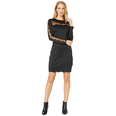 Ted Baker Serenity Joyous Bodycon Dress (Black) Women