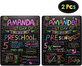 Personalized First Day and Last Day of School Sign 13