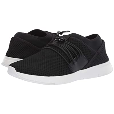 FitFlop Air Mesh Lace-Up (Black/White) Women